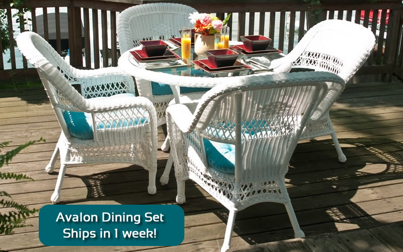 Classic Coastal Avalon Dining Set $1299